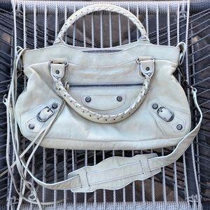 Ultra RARE 03 BALENCIAGA White Mastic First Bag